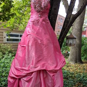 Pink Princess Sz 10 Gown Halloween Costume